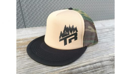 CAPPELLINO SNAP BACK TRUCKER TREES CAMO